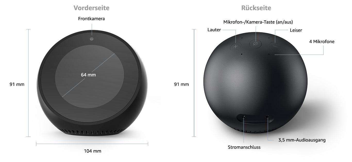 ausstattung amazon echo spot aftvhacks. Black Bedroom Furniture Sets. Home Design Ideas