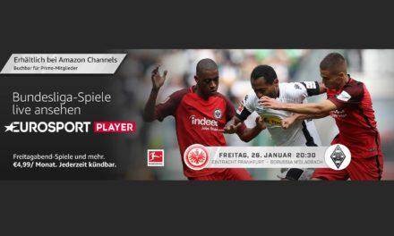 Heute Abend im Eurosport Player: Eintracht vs. Gladbach #SGEBMG