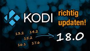 Anleitung: Zu Kodi 18.0 updaten auf dem Fire TV