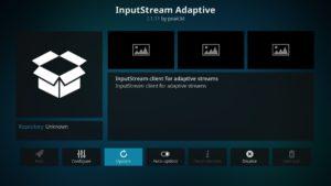 Manuelle Aktualisierung eines Kodi-Addons am Beispiel von InputStream Adaptive