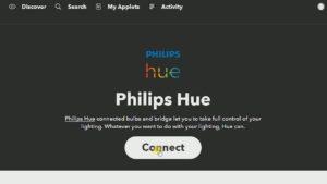 Philips Hue mit IFTTT verbinden