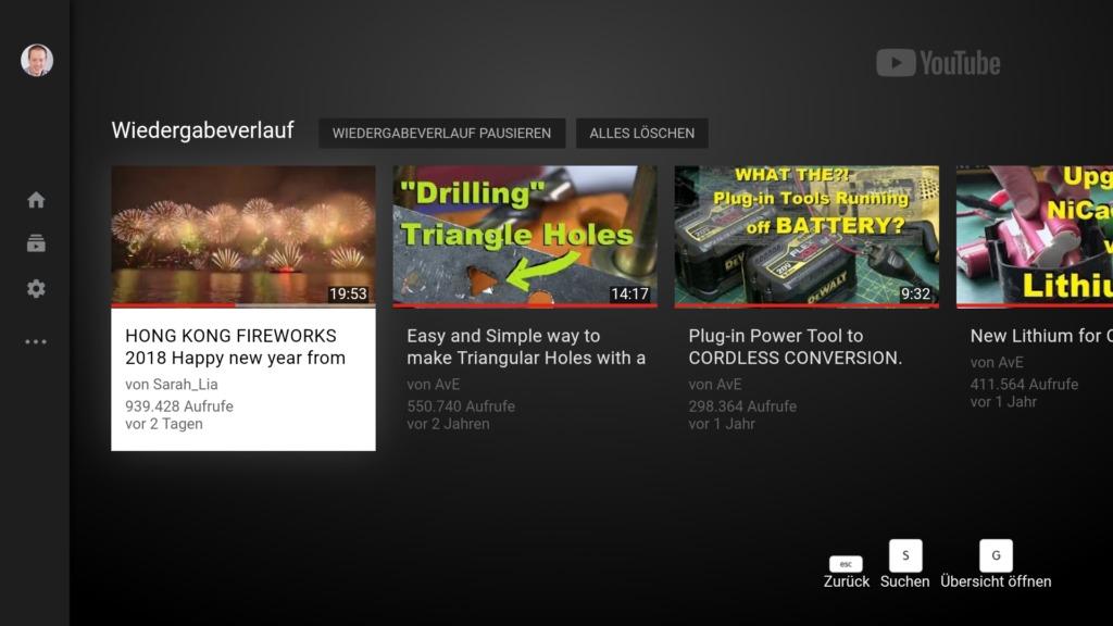 YouTube auf dem Fire TV funktioniert auch 2018 noch