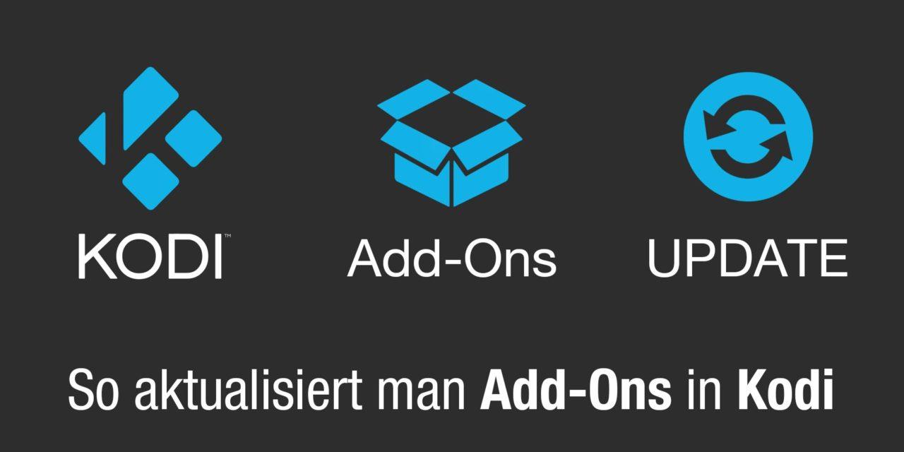 Tipp: Wie man Kodi-Add-Ons aktualisiert