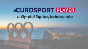 Während den olympischen Spielen den Eurosport Player 5 Tage kostenlos testen