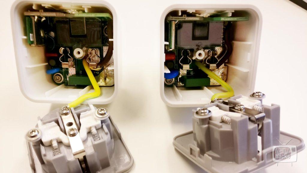 Steckdosen geöffnet - Gibt es einen unterschied zwischen Osram Lightify und Osram Smart+ Steckdose.