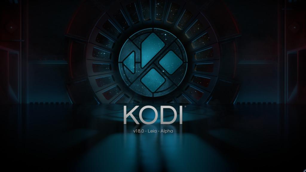 Der neue Splash-Screen von Kodi 18 Alpha 1 Codename Leia gefällt uns sehr gut