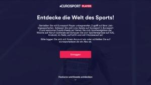 Eurosport Player auf dem Fire TV öffnen