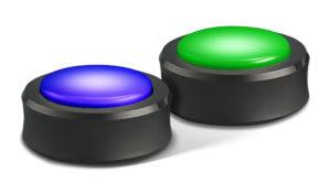 Die Echo Buttons leuchten wenn sie gedrückt werden
