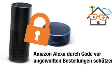 Amazon Alexa Kindersicherung – So schützt ihr euren Echo durch Code vor ungewollten Bestellungen