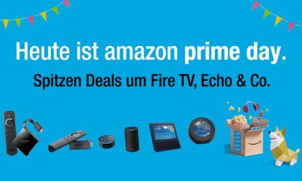 Heute ist primeday – Die besten Angebote von Fire TV bis amazon Echo (bis zu -43,7% billiger als bei Geizhals)