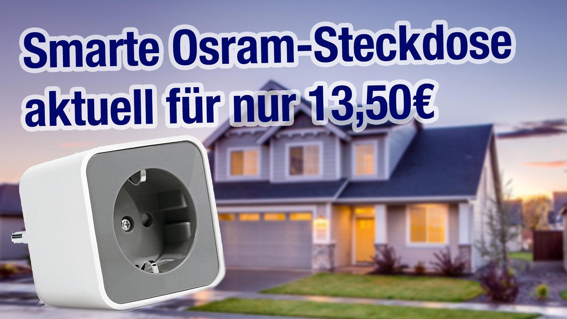 deal smarte osram steckdose f r 13 50 philips hue echo plus kompatibel aftvhacks. Black Bedroom Furniture Sets. Home Design Ideas