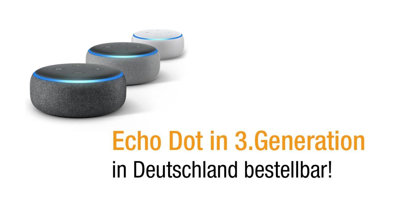 Das neue Echo Dot 3. Generation vorgestellt – Lohnt sich der Kauf?