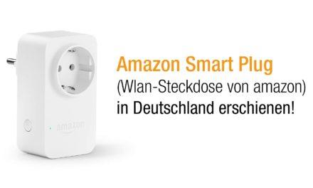 Amazon Smart Plug (WLAN-Steckdose) vorgestellt (auch in Deutschland)