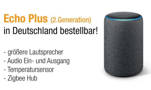 Das neue amazon Echo Plus in 2. Generation vorgestellt
