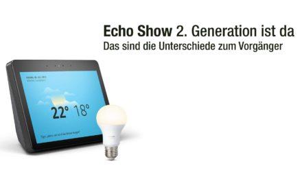 amazon Echo Show 2. Generation – Unterschiede und Skype Unterstützung Für Echos