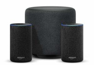 Echo 2.1 - mit 2 Echos und einem Echo Sub