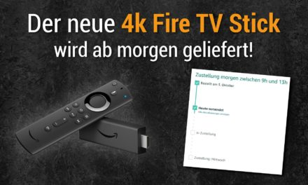 4k fire tv stick 3 ab morgen (14.11.) in Deutschland bei amazon lieferbar