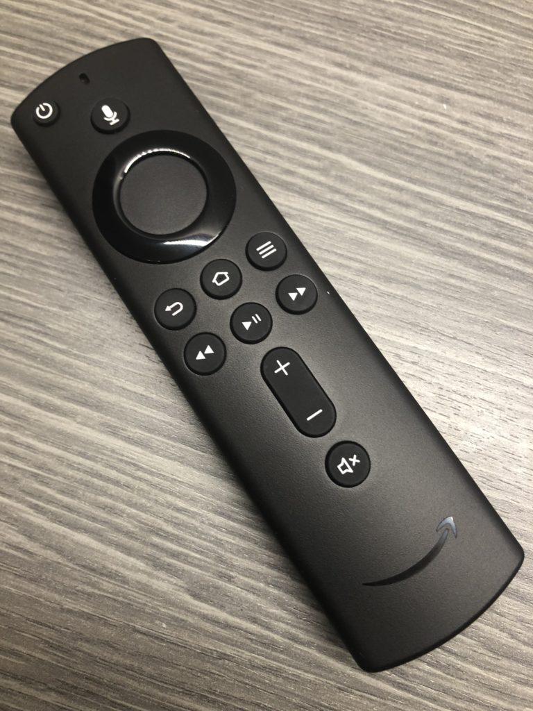 Die neue Sprachfernbedienung die mit dem 4K Fire TV Stick 3 erstmals ausgeliefert wird