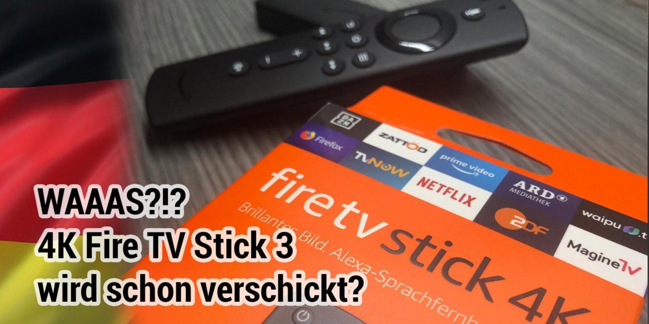 Erste 4K Fire TV Stick 3 treffen bei deutschen Nutzern ein!