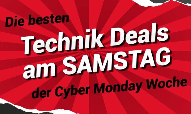 Nur noch 3 Tage: Die besten Tech-Deals der Cyber Monday Woche am Samstag