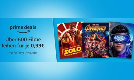 Black Friday: Über 600 Filme für je 99cent leihen
