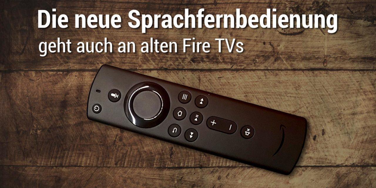 Test: Die neue Alexa Sprachfernbedienung – Funktionen & Fire TV Kompatibilität