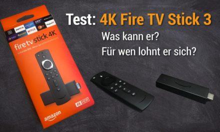 Test: Der neue 4K Fire TV Stick 3 – Was kann er & für wen lohnt er sich?