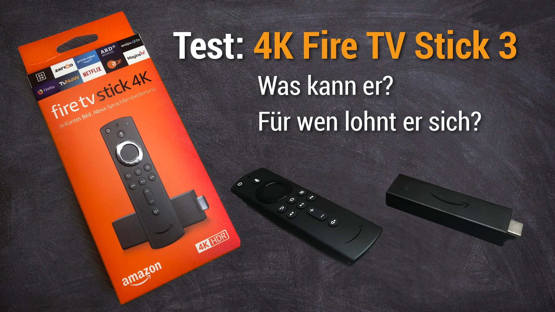 Test: Fire TV Stick 4k: Was kann er & lohnt er sich? (deutsch)