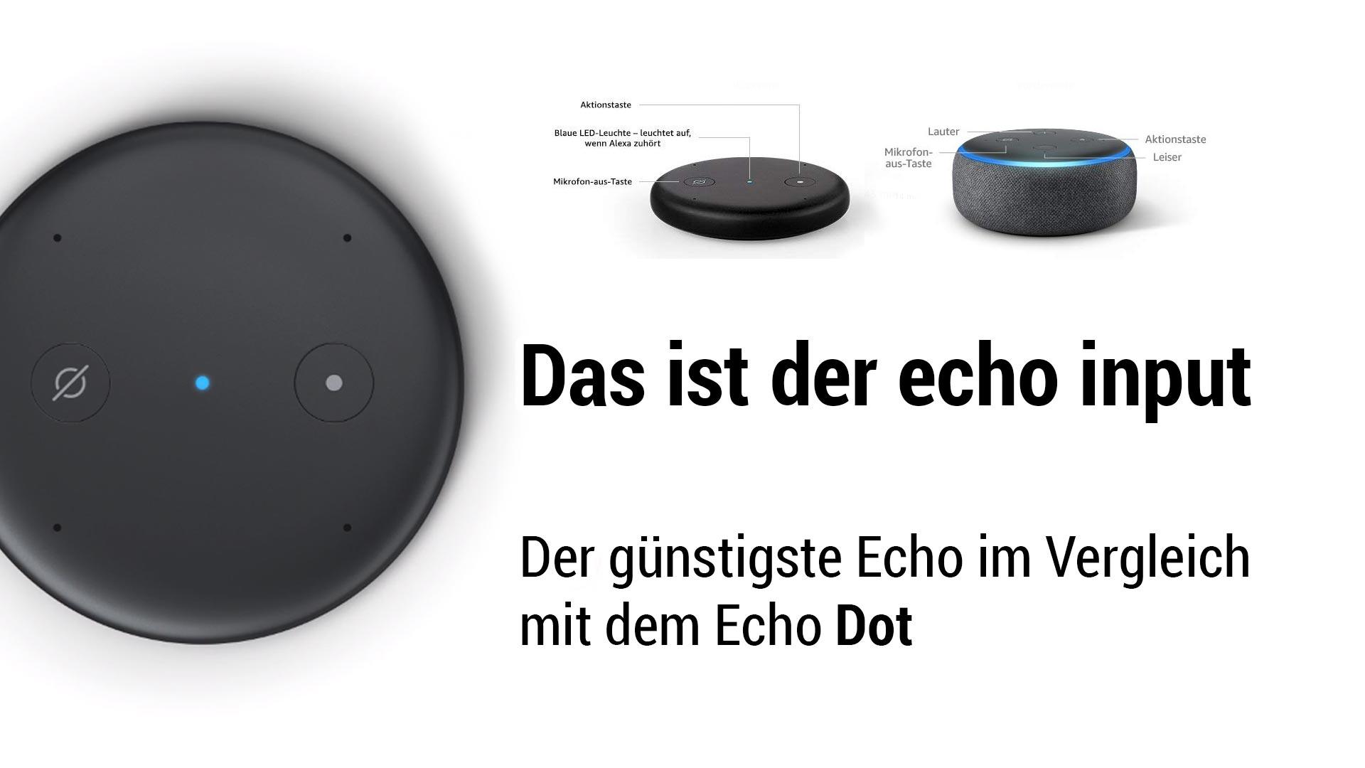 Unterschied Echo Und Dot