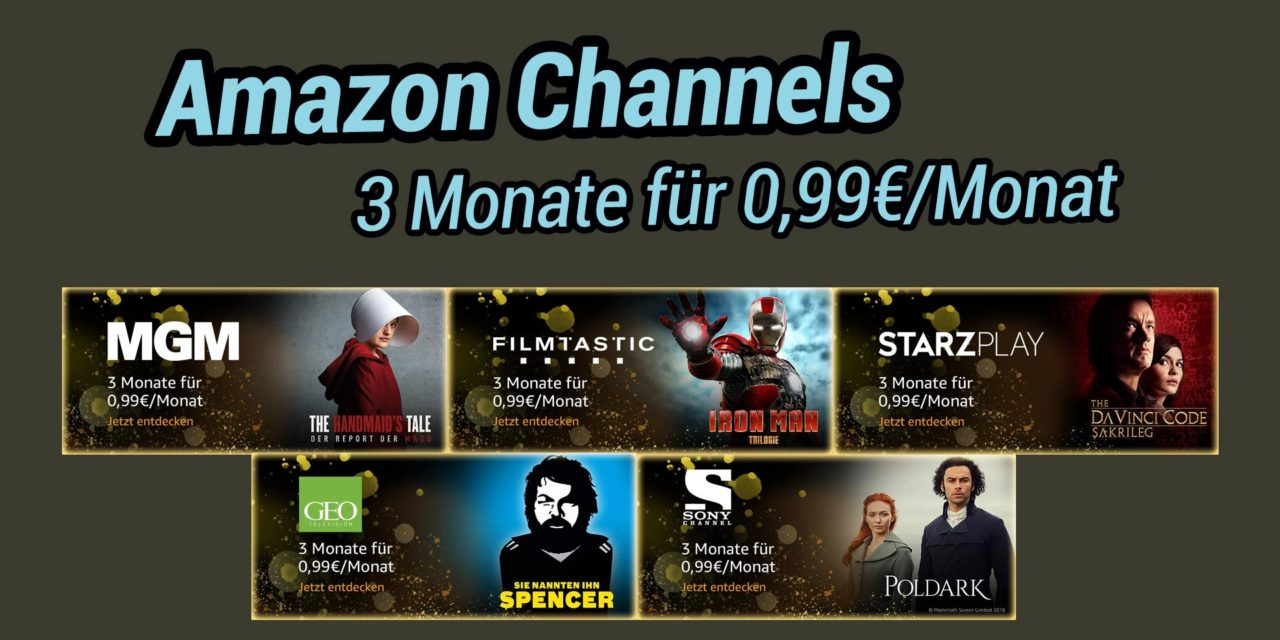Deal: Einige Amazon Channel 3 Monate lang für je 99 Cent