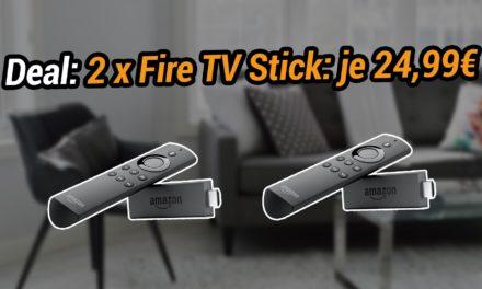 Deal: 2 Fire TV Sticks für 49,98€ bei amazon – Lohnt der Kauf?