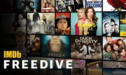 Neuer kostenloser Streaming-Dienst von Amazon gestartet: IMDb Freedive