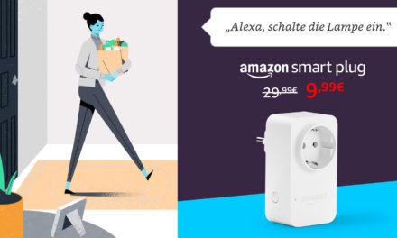 Deal: offizielle Amazon Alexa-Steckdose mit Gutscheincode für 10€
