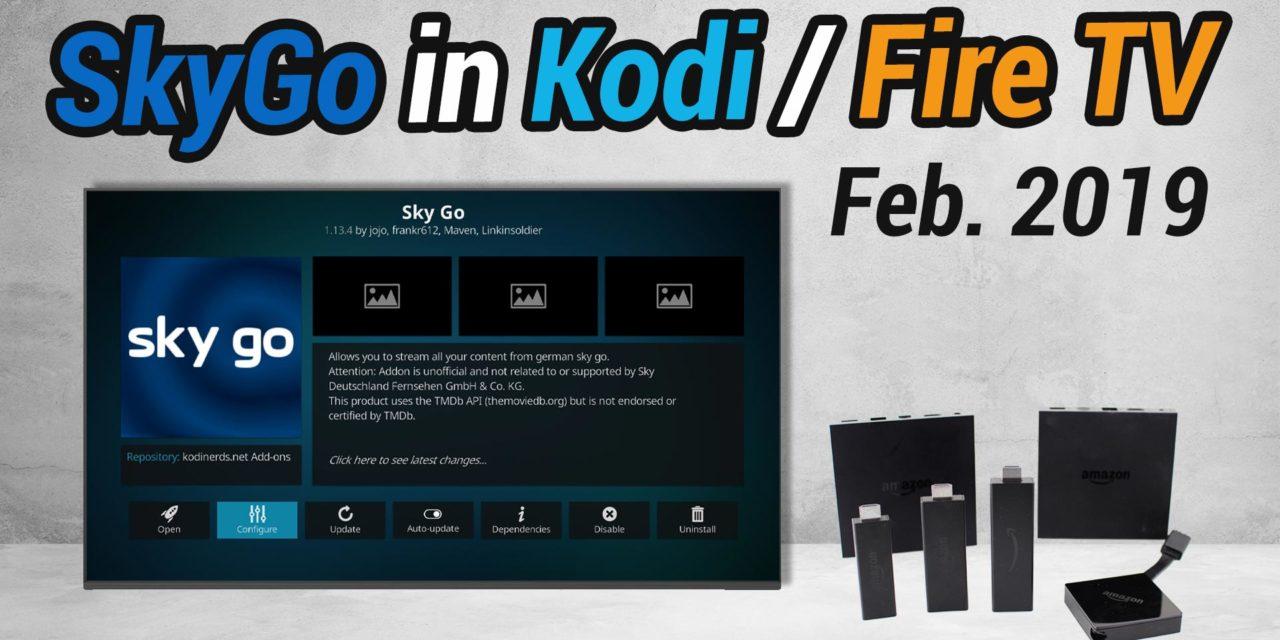 Videoanleitung: Wie man SkyGo in Kodi installiert (für Fire TV & PC)