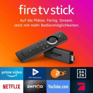 Der Fire TV Stick 2 jetzt auch mit neuer Fernbedienung erhältlich