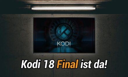 Kodi Leia 18.0 Final erschienen: Was gibt's Neues für Fire TV Besitzer?