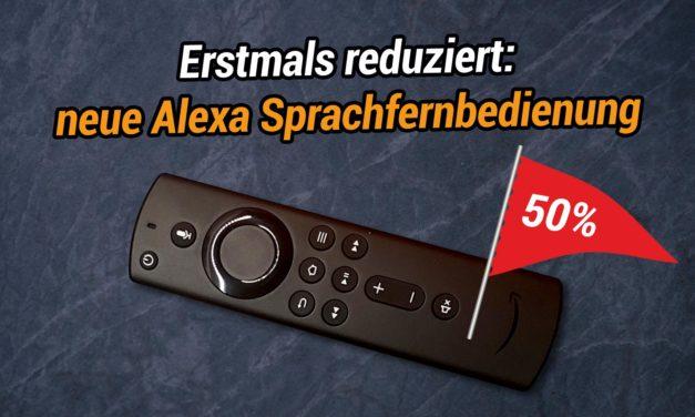 Deal – Erstmals reduziert: Die neue Alexa-Sprachfernbedienung für Fire TV