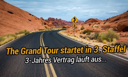 Dritte Staffel von The Grand Tour startet auf Amazon Prime Video