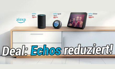 Deal: Mehrere Amazon Echo Geräte reduziert – Welche lohnen sich?
