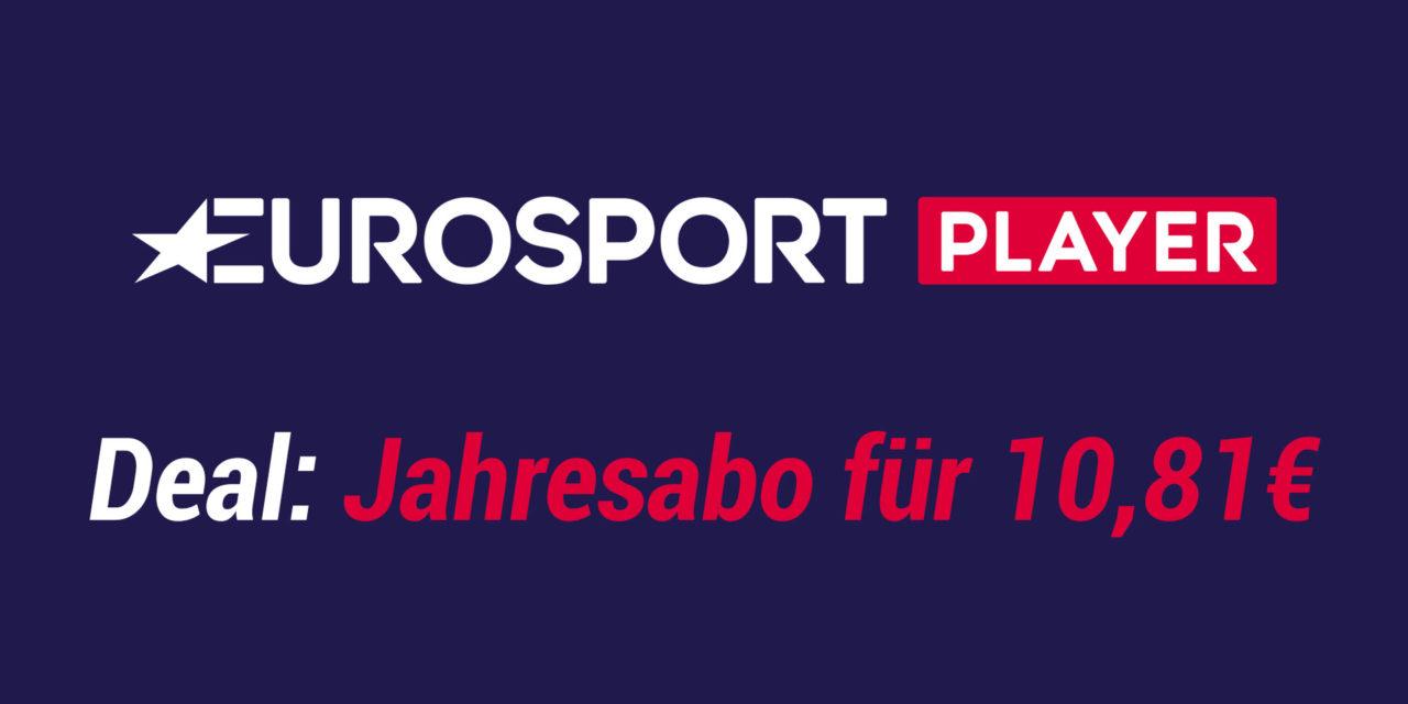 Deal: Polnisches Eurosport Player Jahresabo für 10,81€
