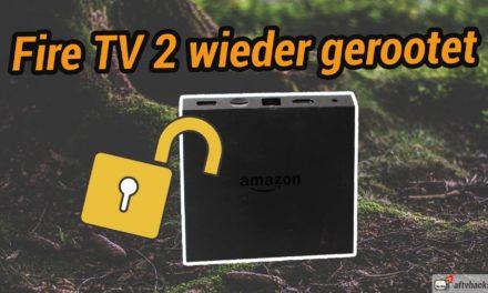 News: Auch das Fire TV 2 kann wieder gerootet werden!