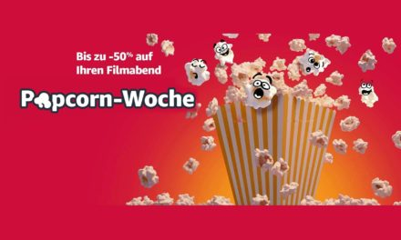 Deal: Popcorn-Woche auf amazon – Filme, Fernseher und mehr reduziert