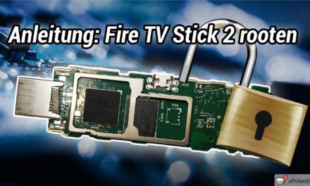 Rooting-Anleitung: Wie man den Fire TV Stick 2 rootet