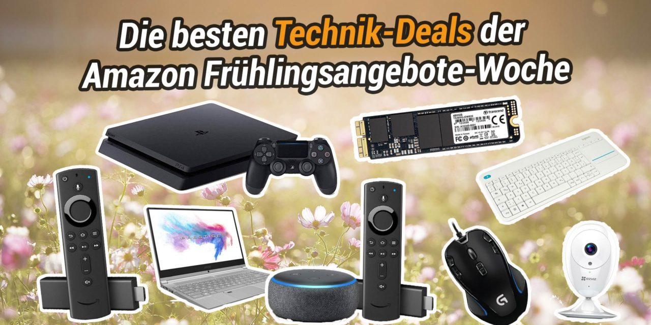 Übersicht: Die besten Technik-Deals der Amazon Frühlingsangebote-Woche