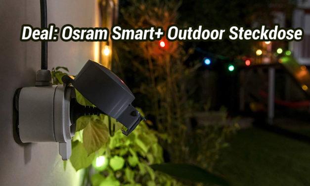 Deal: Osram Smart+ Outdoor Plug aktuell 19,00€