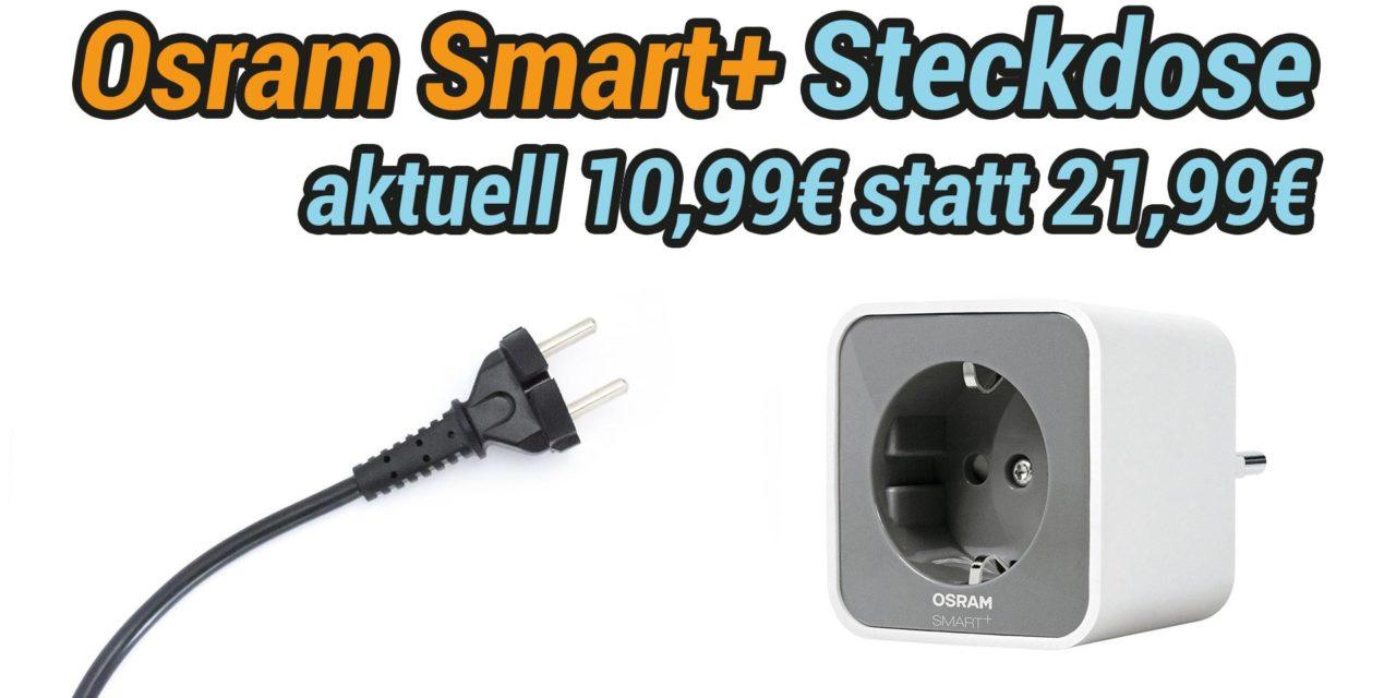 Deal:  Osram Smart+ Plug – Smarte Steckdose reduziert