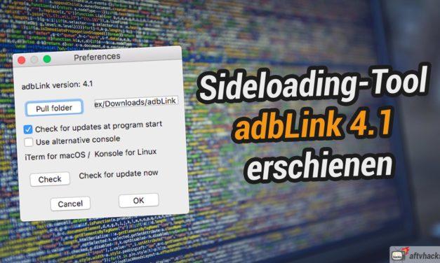 Sideloading-Tool adbLink 4.1 erschienen: 2 Fehler behoben