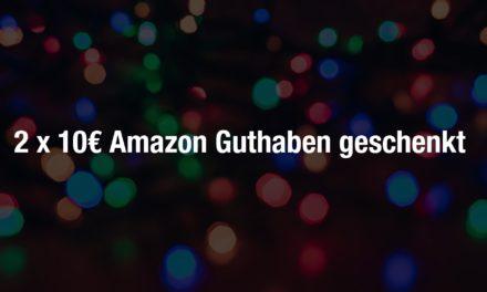 2 x 10€ Amazon Guthaben geschenkt & waipu.tv kostenlos