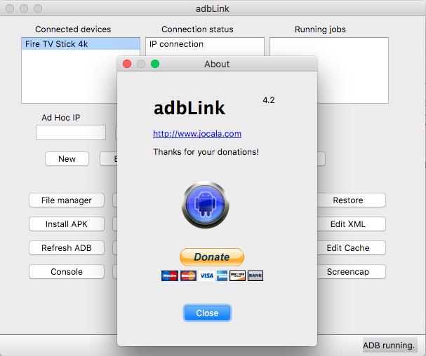 Sideloading- & Kodi-Tool adbLink 4.2 erschienen