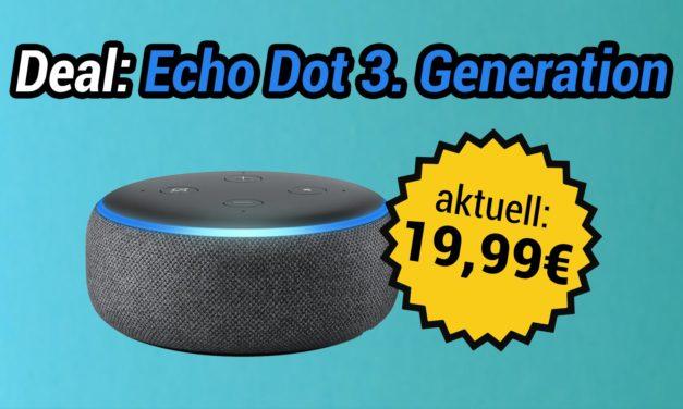 Deal: Wieder da: Bislang bester Preis für Echo Dot 3. Generation